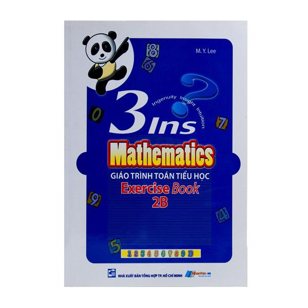 Mua Sách - Giáo Trình Toán Tiểu Học - 3ins Mathematics - Exercise Book 2B - 8935072876944