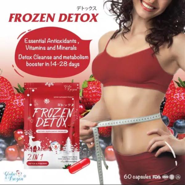 Viên Detox rau củ Frozen Thái Lan cao cấp