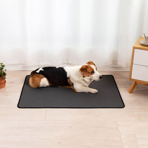 QUANLAO Chất liệu dày hơn Máy giặt được Không thấm nước Có thể tái sử dụng Dành cho chó nhỏ, trung bình, lớn Giường của chó Mat thấm Đồ cho chó Tấm lót cho thú cưng Pad huấn luyện chó
