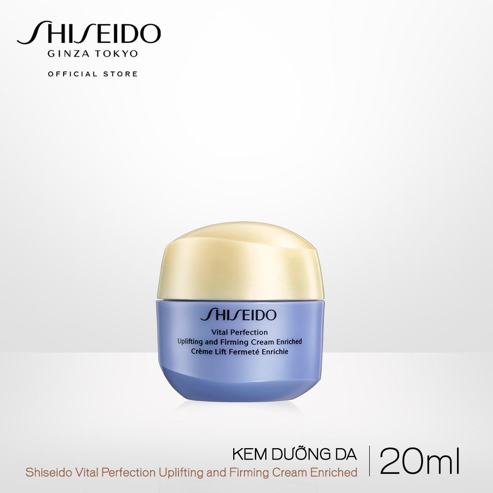 Kem dưỡng da Shiseido Vital Perfection Uplifting and Firming Cream Enriched 20ml