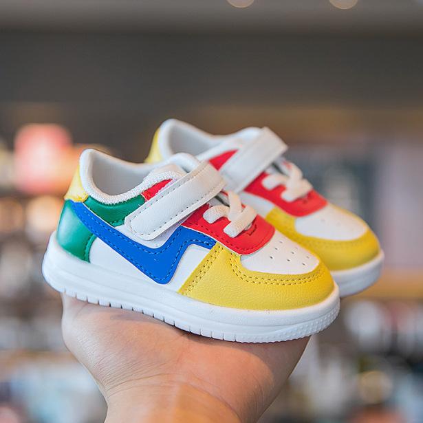 Giày trẻ em dáng thể thao phong cách Hàn Quốc giày cho bé trai bé gái từ 0-3 tuổi siêu nhẹ chống trơn trượt G20 giá rẻ