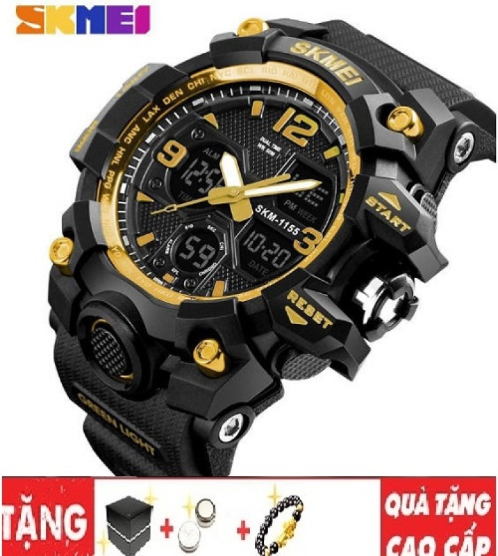 Đồng hồ nam điện tử SKMEI 1155B thời trang dáng thể thao
