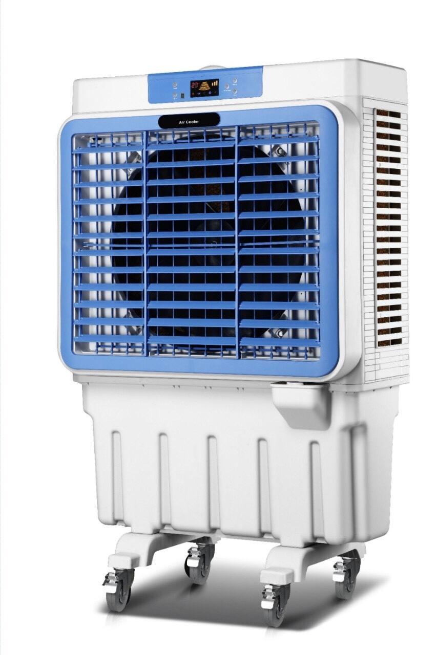 [TẶNG 2 HỘP ĐÁ KHÔ+ VOUCHER GIẢM 200K] Quạt điều hòa không khí công nghiệp diện tích >100m2 AKYO Model ZT-12000 ĐIỀU KHIỂN, Lưu lượng gió 12.000m3/h, Công suất 380W, bảo hành 24 tháng