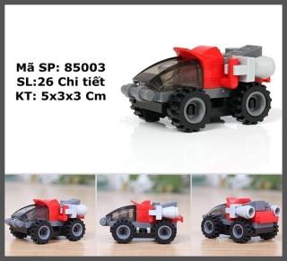 Đồ chơi trẻ em xếp hình LEGO CITY lắp ráp các loại xe ô tô từ 27 đến 32 chi tiết nhựa ABS cao cấp cho bé từ 4 tuổi trở lên phát triển trí tuệ và sáng tạo - Giới hạn 5 sản phẩm khách hàng 2