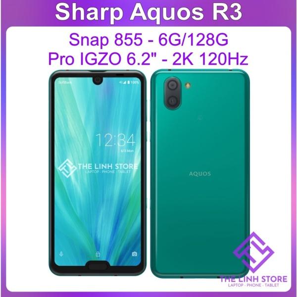Điện thoại Sharp Aquos R3 ram 6G 128G - Snap 855 Màn 120Hz