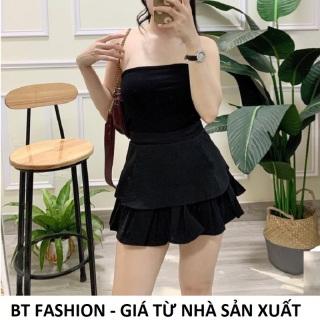 Chân Váy Xòe Ngắn Thời Trang Hàn Quốc Mới - BT Fashion (XÒE 2T Dập Ly Tầng Dưới) - VA01 thumbnail