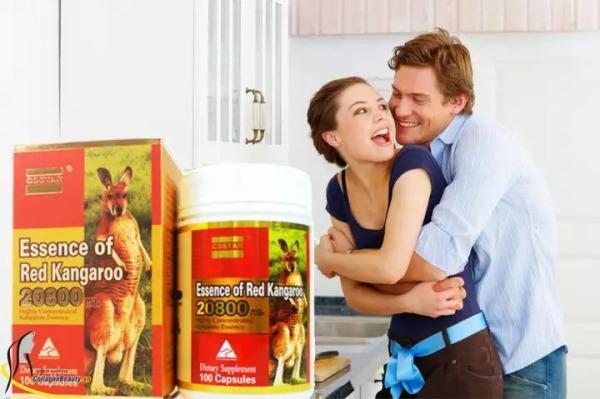 Thực phẩm chức năng Viên uống tinh chất Costar Essence of Red Kangaroo 28000 max, hỗ trợ tăng cường sinh lực nam giới (100 viên) - Nhập khẩu Australia nhập khẩu