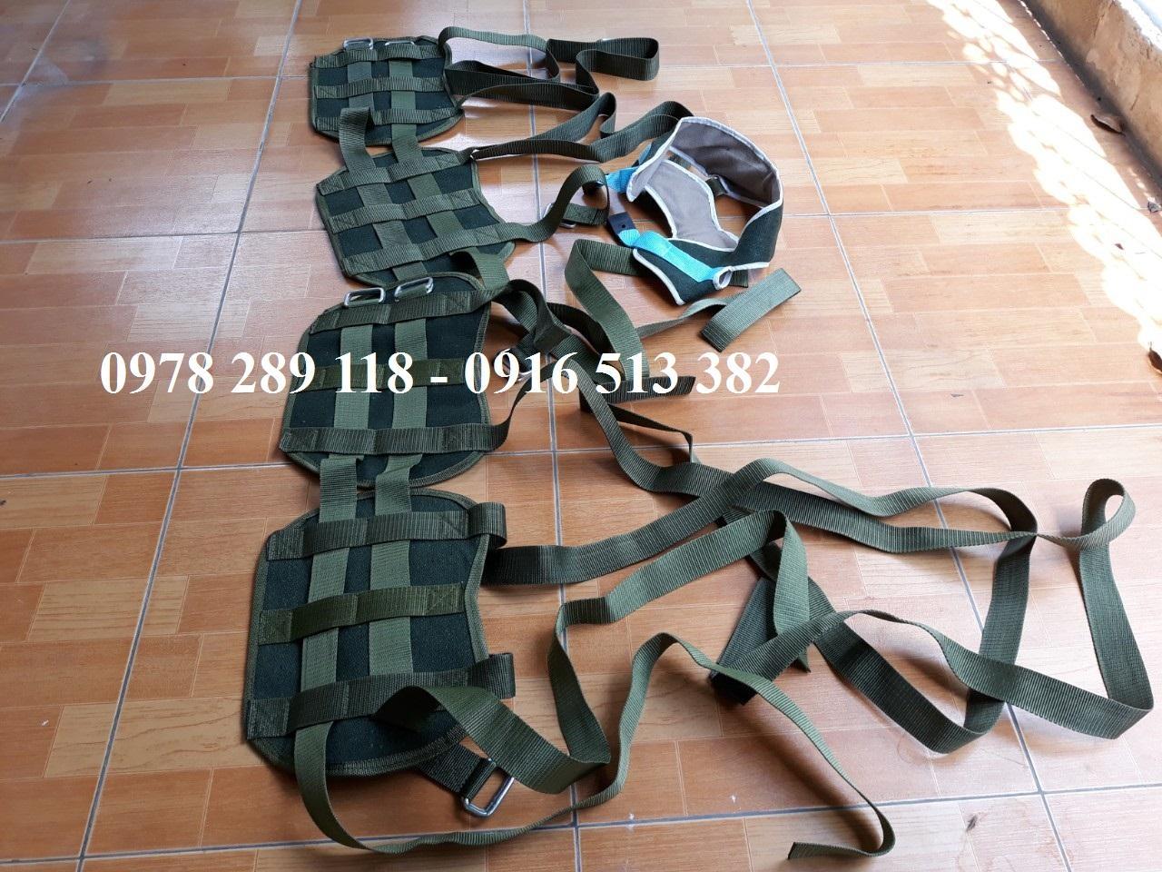 Bộ dây đeo của giường kéo giãn cột sống nhập khẩu