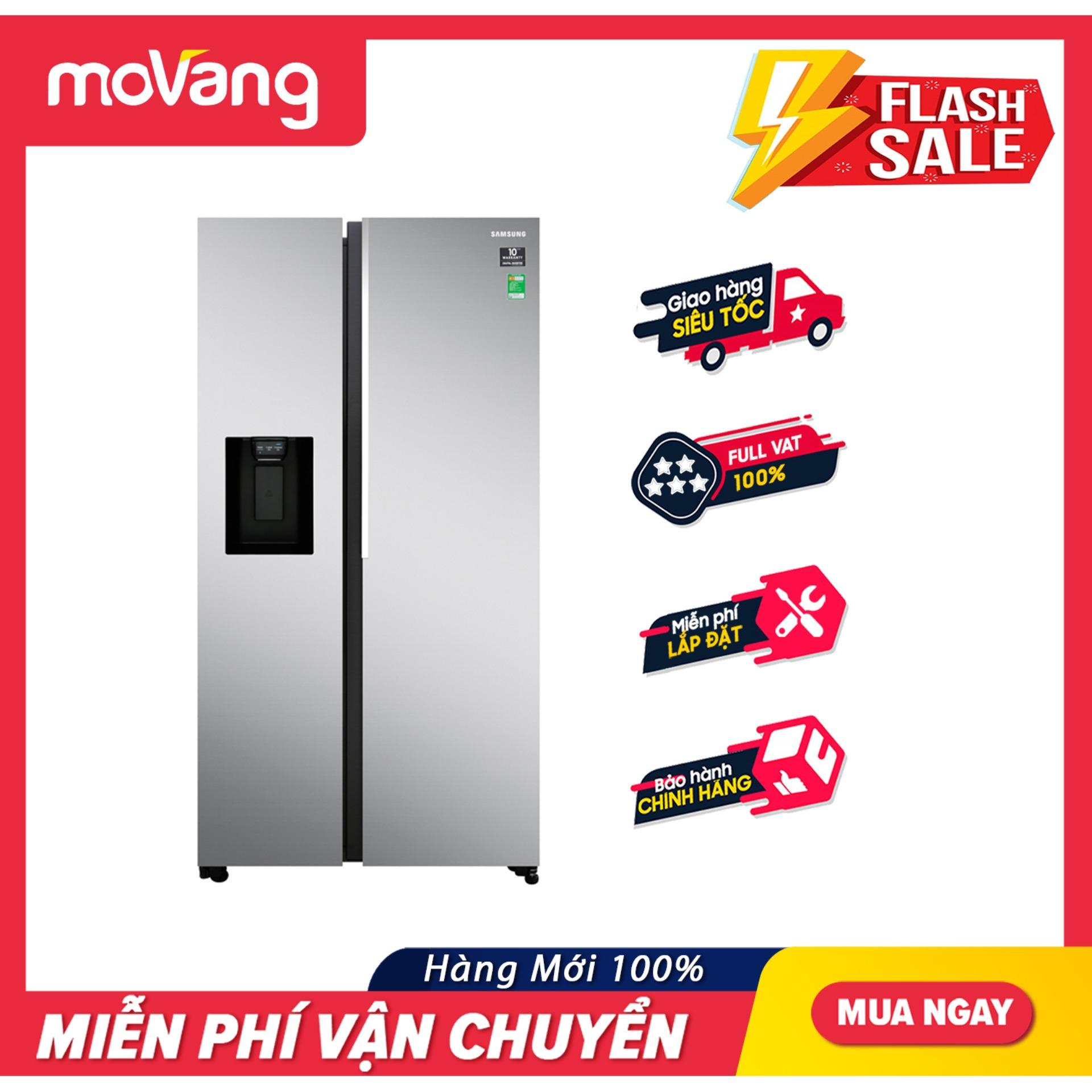 Tủ lạnh Samsung RS64R5101SL/SV Inverter 617 lít