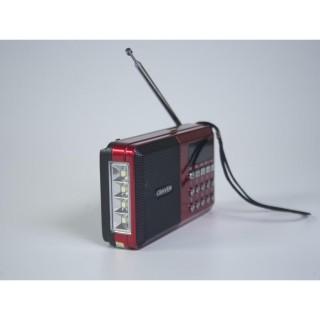 [HCM]Loa Thẻ Nhớ USB Craven CR-65 Có Đèn Pin thumbnail