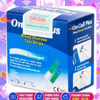 Que thử đường huyết Acon On-Call Plus Blood Glucose Test Strips thumbnail