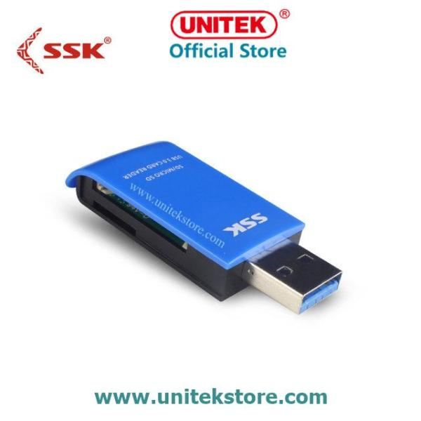 [UNITEK STORE] Đầu đọc thẻ nhớ Card Reader USB 3.0 SSK 331