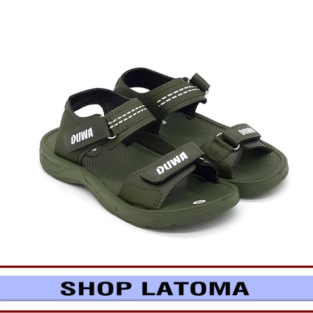 Giày Sandal nam nữ, giày xăng đan có quai hậu, học sinh sinh viên mang đều phù hợp và độc đáo vận động du lịch thoải mái kiểu dáng cổ điển thời trang cao cấp Latoma TA4811 (Xanh Rêu) giá rẻ