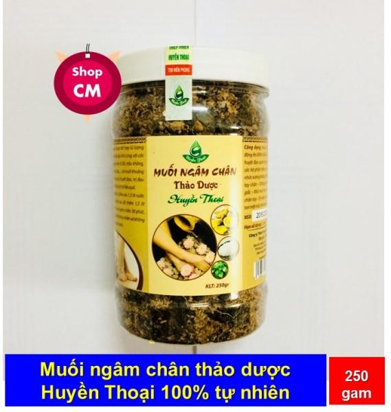 Muối thảo dược ngâm chân Sinh Dược 100% tự nhiên nhập khẩu