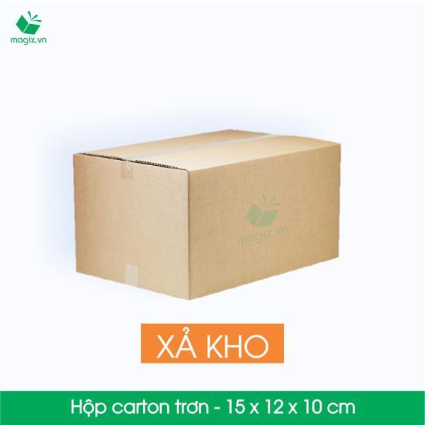 MXK1 - 15x12x10 cm - 40 Thùng hộp carton trơn đóng hàng