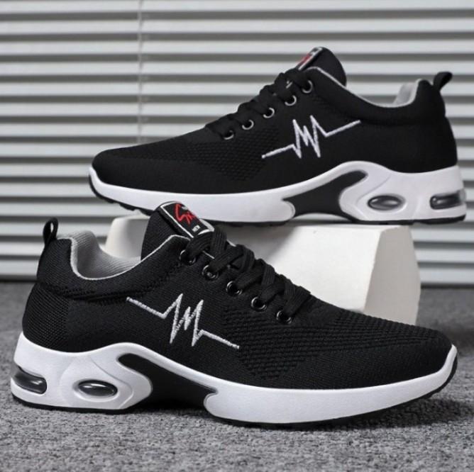 Giày nam VẢI DỆT siêu thoáng khí- giày Sneaker nam thể thao phong cách Hàn Quốc SP - 348 giá rẻ