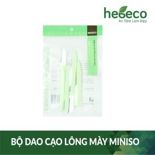Bộ dao gạo lông mày tiện dụng miniso, cam kết hàng đúng mô tả, chất lượng đảm bảo an toàn đến sức khỏe người sử dụng thumbnail