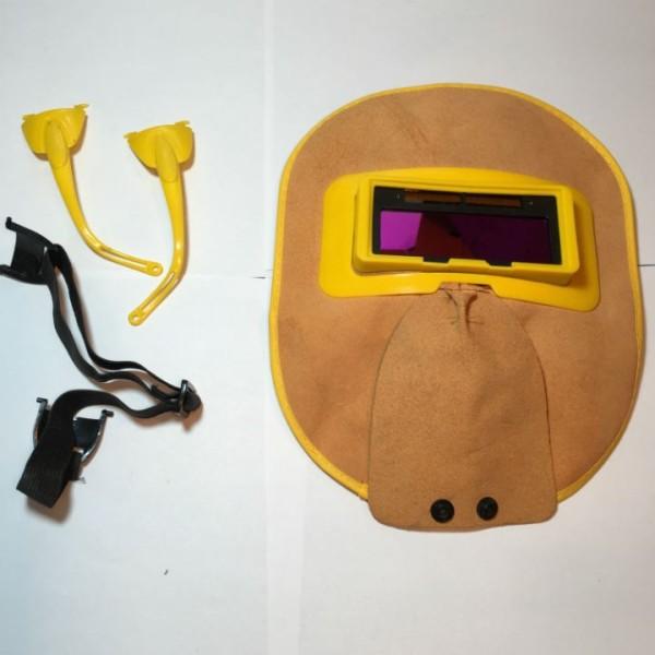 kính hàn điện tử - mặt nạ da bò cao cấp
