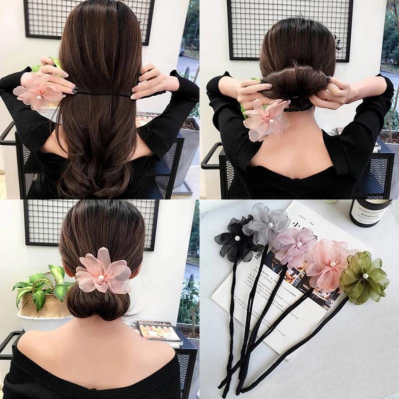 (Combo 2 chiếc) Dụng cụ buộc tóc Magic Hair - Dây buộc tóc - phụ kiện chăm sóc tóc cho phụ nữ - phụ kiện thời trang nữ giá rẻ