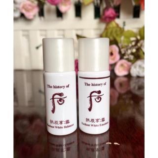 Nước hoa hồng dưỡng trắng da Whoo Radiant White Balancer 5ml thumbnail