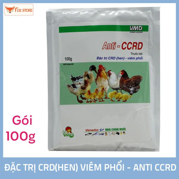 Anti – CCRD - Dùng cho CRD (hen) viêm phổi ở gia cầm (gói 100g)