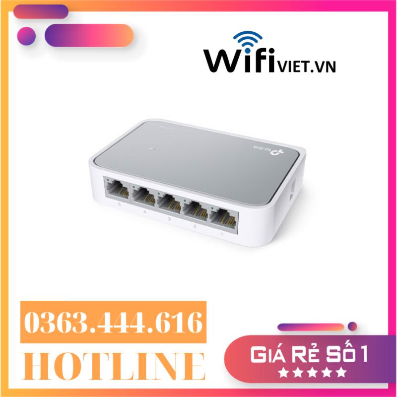 Bảng giá [Hàng chính hãng - Giá ưu đãi] Tplink SF1008D - Bộ Chia Tín Hiệu Để Bàn 8 cổng 10/100Mbps | Tư Vấn & Lắp Đặt Bởi WifiViet.VN Phong Vũ