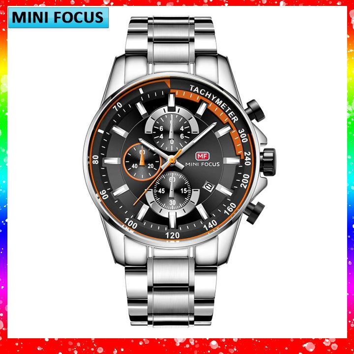 Đồng hồ nam Mini Focus Z-218B cao cấp dây thép bán chạy