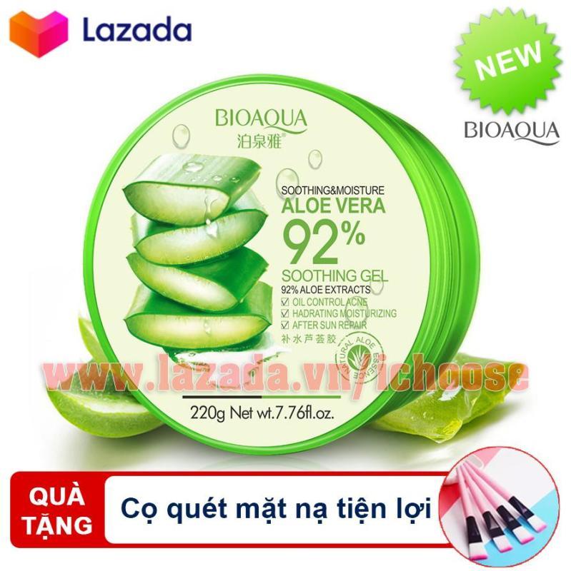[QUÀ TẶNG] Gel nha đam dưỡng da làm đẹp đa năng  Nature Republic Aloe Vera 92% Soothing Gel 300ml nhập khẩu