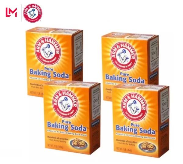 4 Hộp bột baking soda đa công dụng 454g - Mỹ giá rẻ