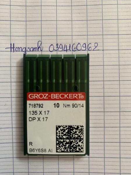 Kim máy bọ lập trình DPx17 của Đức Groz-Beckert 1 vĩ 10 cây