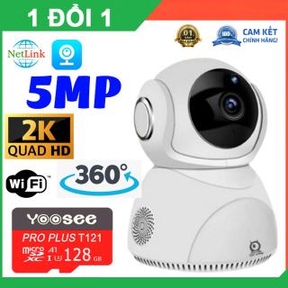 Camera 5.0Mpx V380 Pro Q8 Chính Hãng Xoay 360 độ - Nhận Diện Khuôn Mặt, Xoay theo chuyển động - camera ngoài trời , camera trong nhà , camera an ninh , camera hồng ngoại , camera chống trộm thumbnail
