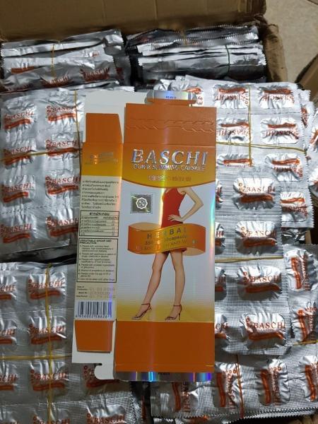Viên Uống Giảm Cân Baschi Cam 30 Viên Công Ty giúp đốt cháy mỡ thừa đã tích tụ lâu năm