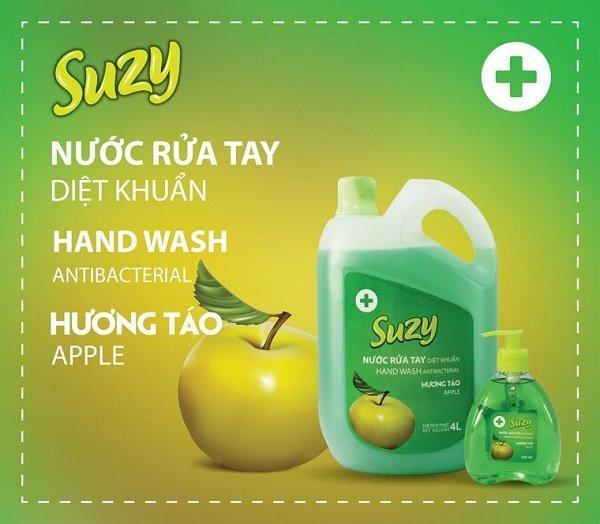 Nước rửa tay suzy hương tao 4L