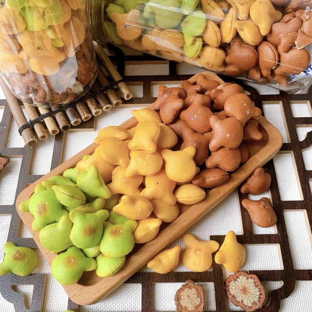 Bánh gấu nhân kem mix 3 vị 390g ,ăn vặt LASTFOODS Hà Nội với các mẫu đồ ăn vặt các miền đầy đủ hương vị thơm ngon giá rẻ