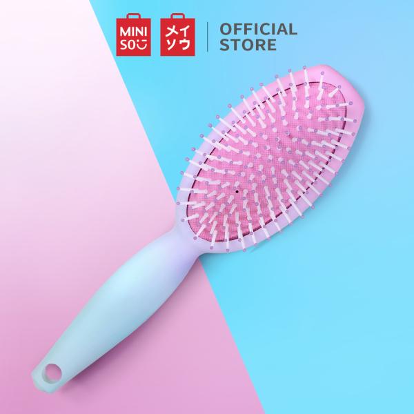 Lược chải tóc Lược massage oval Miniso lông mềm mịn gỡ rối tóc dễ dàng Brush