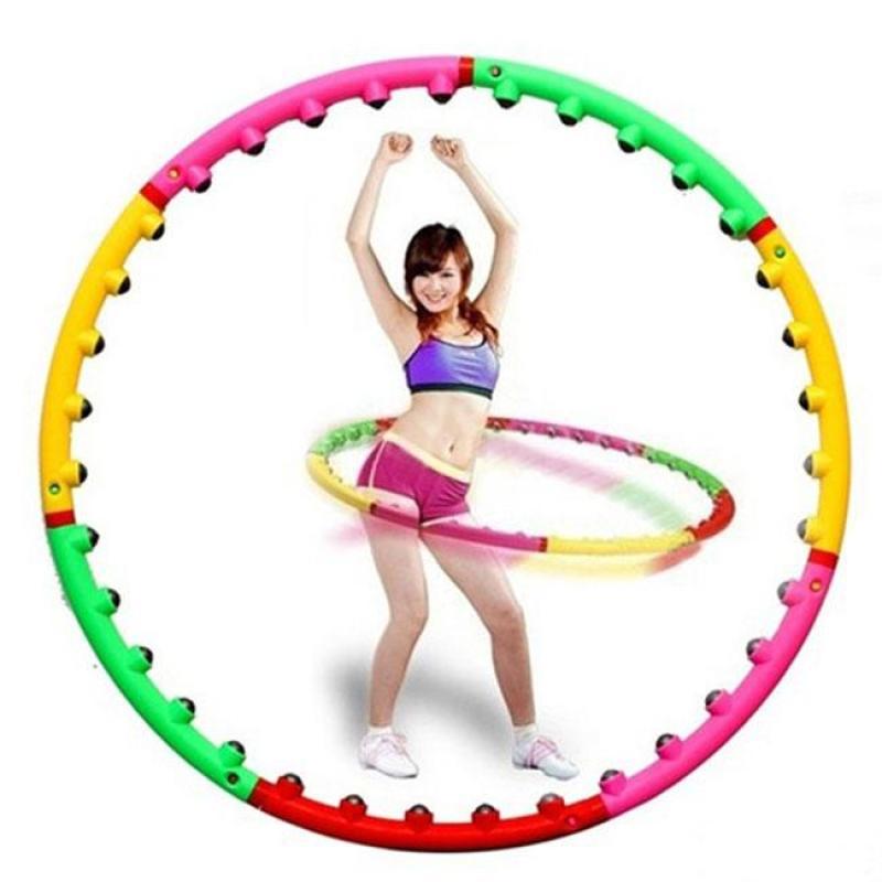 Vòng lắc giảm eo mỡ bụng Massage Hoop bằng nhựa loại tốt