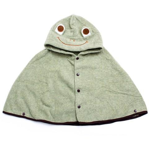 Áo choàng nỉ giữ ấm cho bé hình con ếch