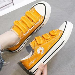 Giày Bệt Nữ, Giày Vải Phong Cách Hàn Quốc Đơn Giản Thời Trang Giày Thể Thao Thường Ngày Thoáng Khí Cho Bé Gái