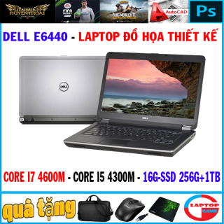 khủng đồ họa Dell E6440 Core i7 4600M , Core i5 4300M,Ram 16G SSD 128+ HDD 1TB, Màn 14in Dòng máy đồ họa mỏng nhẹ bền bỉ thumbnail