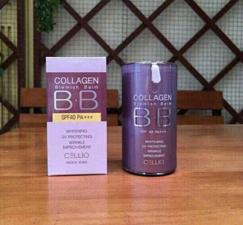 kem nền bb collagen cellio