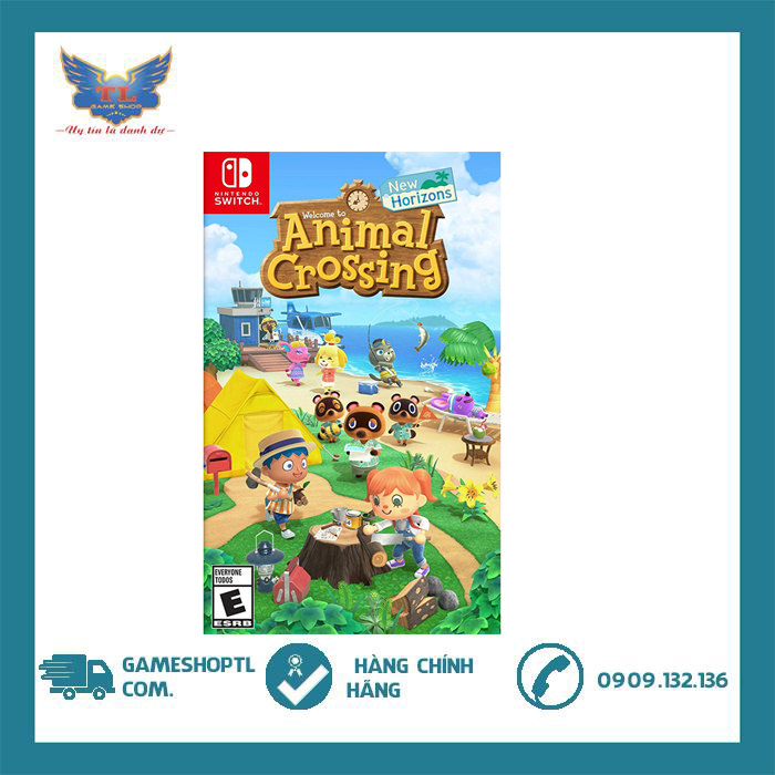 Game Animal Crossing: New Horizons Cho Nintendo Switch