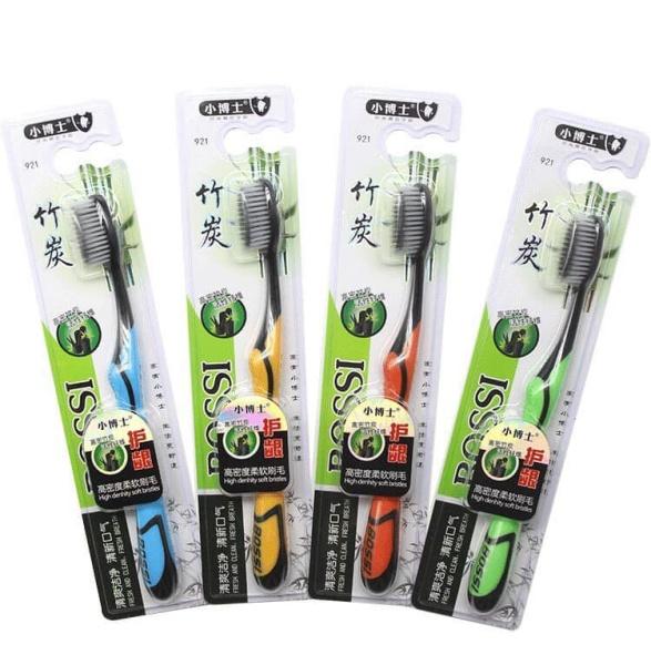 vỈ 10 cái bàn chải đánh răng Hàn Quốc làm từ than hoạt tính siêu mềm bảo vệ sức khỏe nhập khẩu