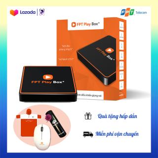 CHÍNH HÃNG FPT PLAY BOX 2020 + Android 10 + 4K Model mới nhất T550 Có Điều Khiển Bằng Giọng Nói + Tặng bình giữ nhiệt và tạp dề thumbnail