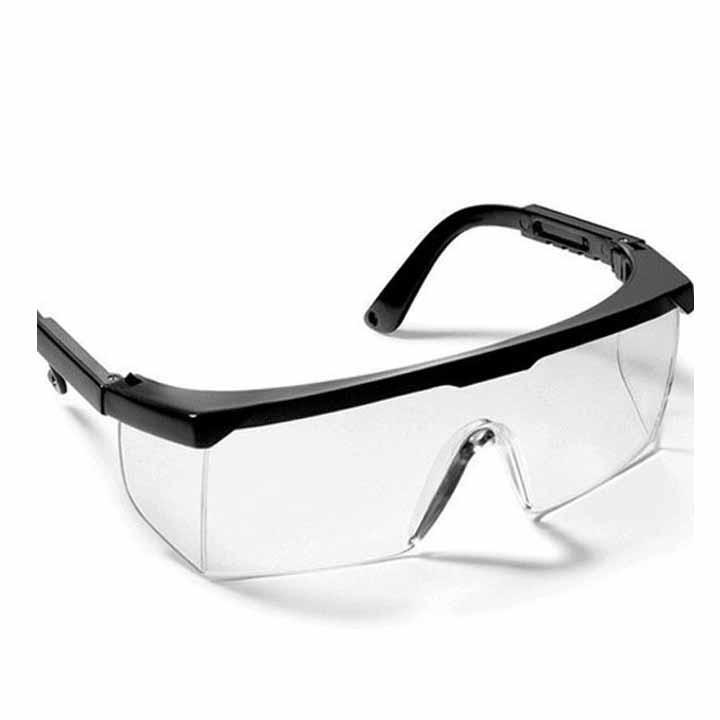 10 chiếc kính bảo hộ lao động mắt vuông màu trắng