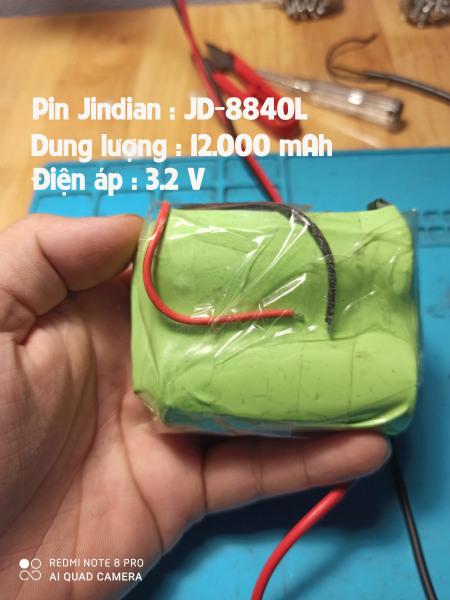 Bảng giá Pin đèn năng lượng mặt trời Jindian