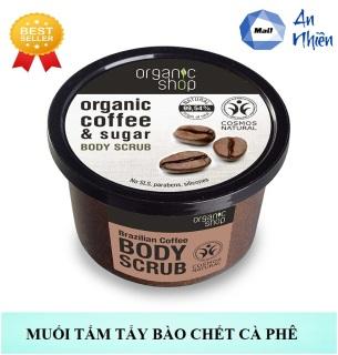 Muối Tắm Cà Phê Organic 100gr - Mẫu mới thumbnail