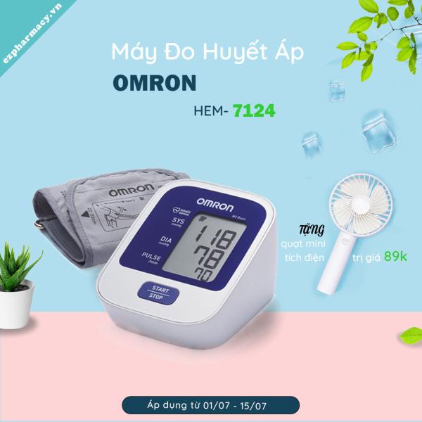 Máy đo huyết áp điện tử Omron Hem-7124 bán chạy