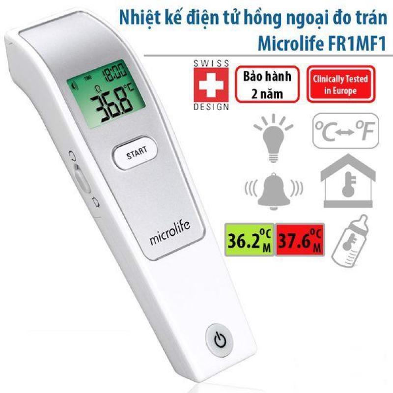 Nhiệt kế hồng ngoại đo trán FR1MF1 - hàng chính hãng Microlife Thụy Sỹ