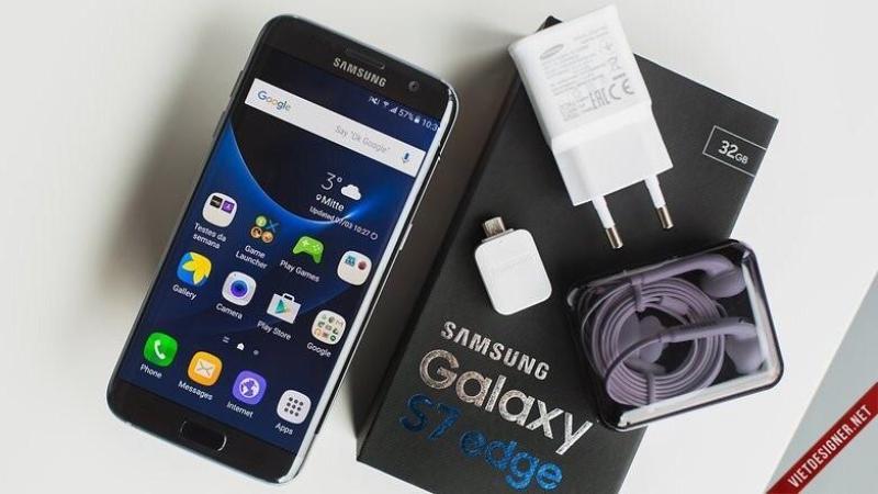 SAMSUNG GALAXY S7 EDGE - RAM 4GB - ĐỦ MÀU