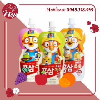 Nước hồng sâm trẻ em Hàn Quốc Pororo 100ml thumbnail